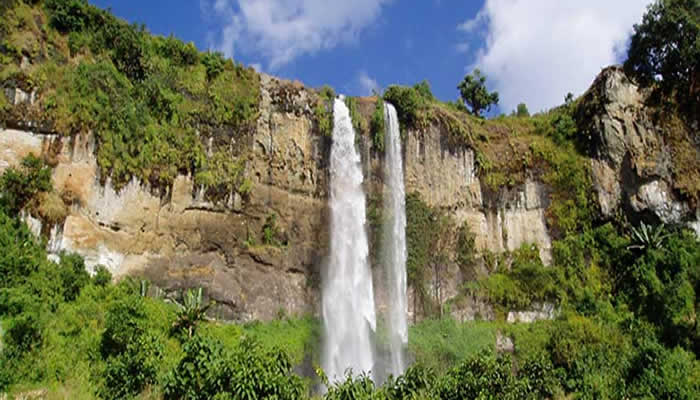 Sipi Falls at Mountain Elgon National Park