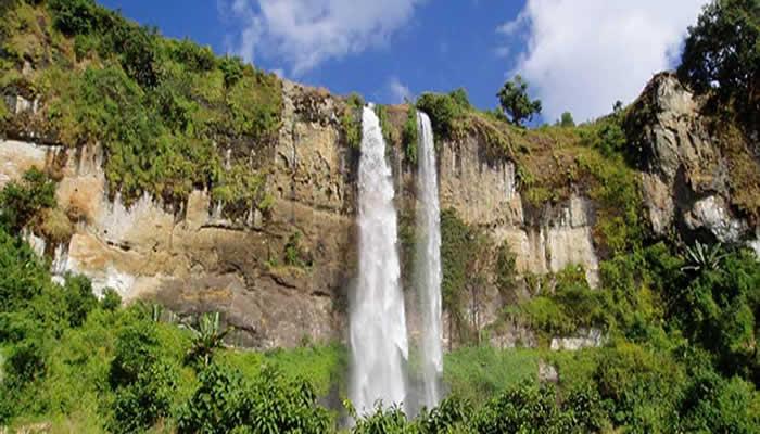 Sipi Falls at Mountain Elgon National Park