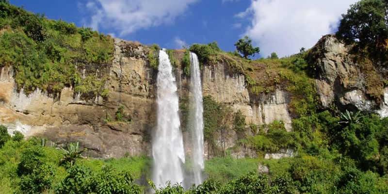 Sipi Falls at Mountain Elgon Uganda