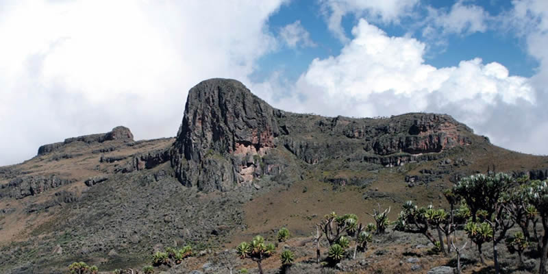 Mountain Elgon in Uganda