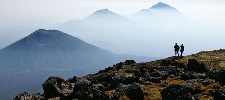 Mountain Bisoke Volcano