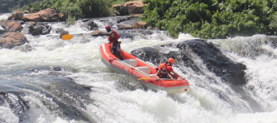 White Water Rafting Safaris Uganda