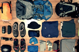 Hiking Gear to Mountain Sabinyo Volcano